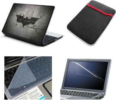 Namo Art Laptop Accessories Batman finish 4in1 14.1 Combo Set
