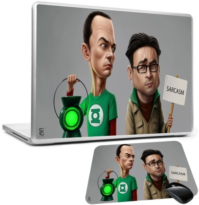 Print Shapes The big bang theory sheldon leonard Combo Set