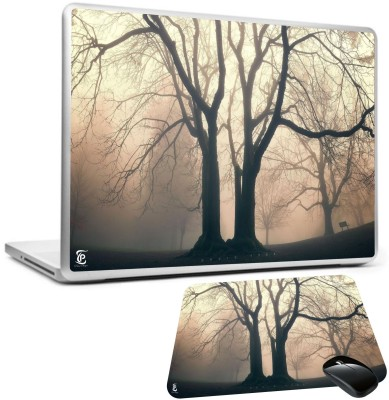 Print Shapes Big old tree without leaves Combo Set