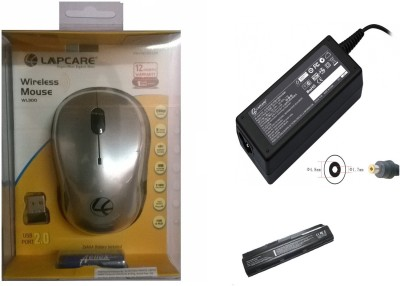 Lapcare Battery DV2000, Adapter, WL-300 Mouse Combo Set