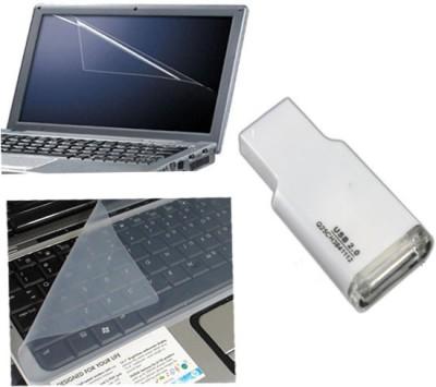 QP360 Laptop Screen Guard&Keyboard skin 15.1inch,Card Reader Combo Set