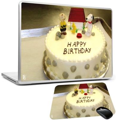 Print Shapes Happy Birthday Cake Combo Set