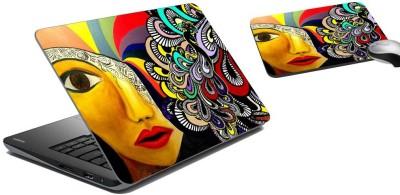 meSleep Abstract Laptop Skin and Mouse Pad 48 Combo Set