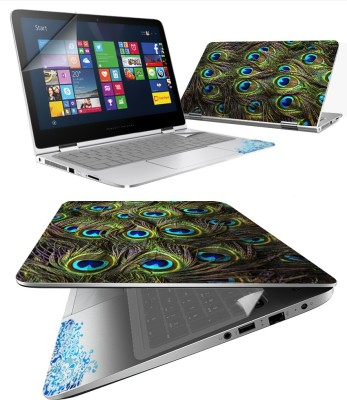 FineArts Feathers 4 in 1 Laptop Skin Pack with Screen Guard, Key Protector and Palmrest Skin Combo Set