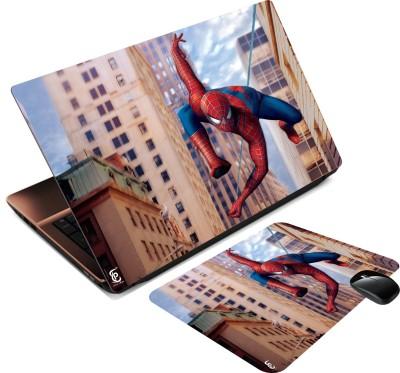 Print Shapes spiderman 3dart abstract building Combo Set
