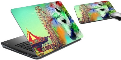 meSleep Circus Laptop Skin and Mouse Pad 61 Combo Set