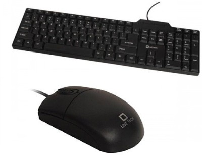 Live Tech Live-Tech Gaming KB 01 Keyboard + MS-02 Mouse Combo Set