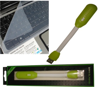 QP360 Laptop Key Protector 15inch,Usb Portable Light Green Combo Set
