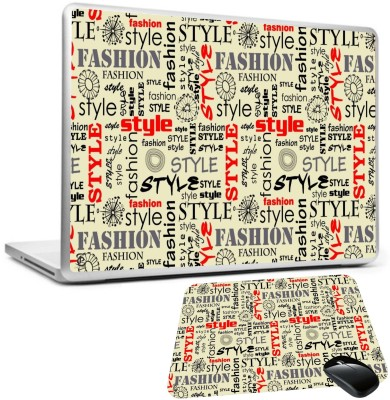Print Shapes fashion style words letters Combo Set