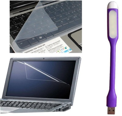 QP360 Anti Dust Protector For Screen,Skin 14inch,Multi function USB Portable Light and Syn Cable Combo Set