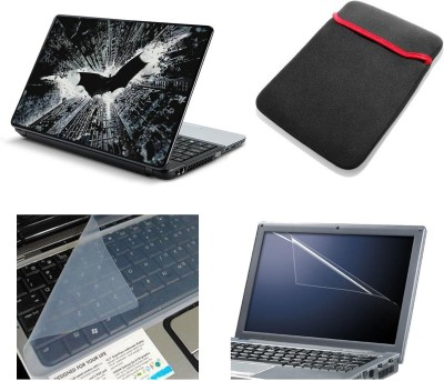 Namo Art Laptop Accessories Batman Building 4in1 14.1 Combo Set