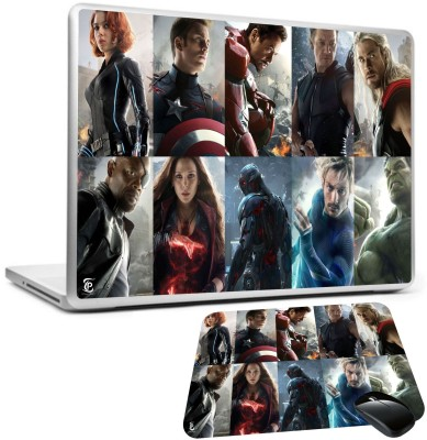 Print Shapes Avengers2 super heros Combo Set