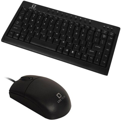 Live Tech Live-Tech Gaming Mini Keyboard + MS-02 Mouse Combo Set