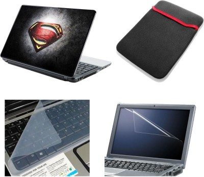 Namo Art Laptop Accessories Superman Logo 4in1 14.1 Combo Set