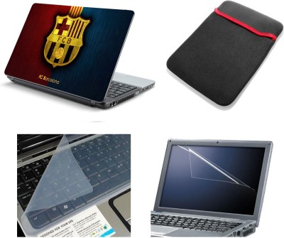 Namo Art Laptop Accessories FC Barcelona 4in1 14.1 Combo Set