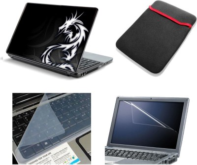 Namo Art Laptop Accessories Abstract Dragon 4in1 14.1 Combo Set