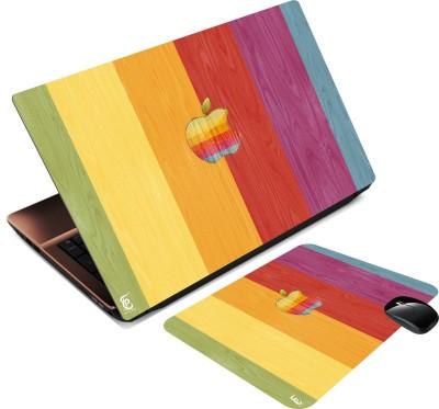 Print Shapes Apple colourfull 3 Combo Set