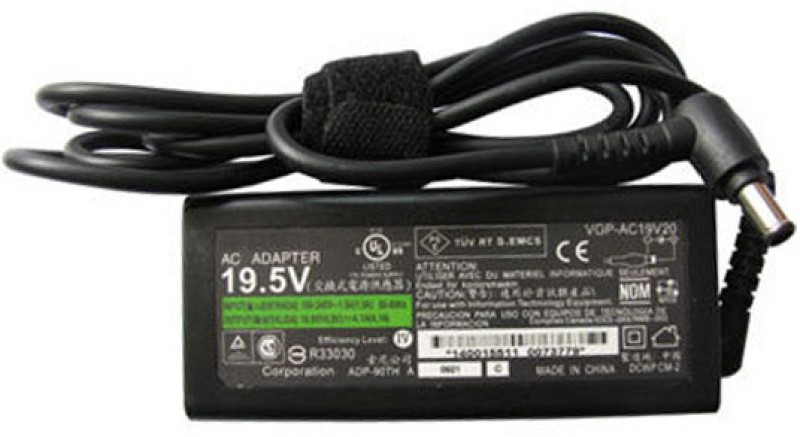 Hako Sony Vaio Vgn-S4xp/B 19.5v 3.9a 75wHKSN642 75 Adapter(Power Cord Included)