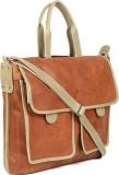Kosher 15 inch Laptop Messenger Bag (Tan...