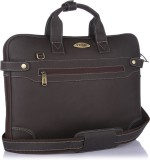 Stamp 14 inch Laptop Messenger Bag (Brow...