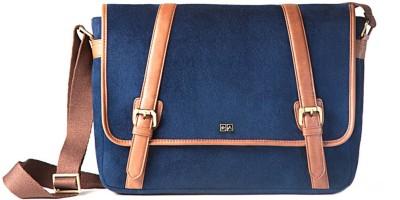 Atorse 15 inch Laptop Messenger Bag(Blue)