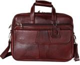 RLE 16 inch Laptop Messenger Bag (Brown)