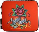 Ed Hardy 15 inch Sleeve/Slip Case (Red)