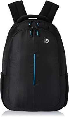 HP 15 inch Laptop Backpack(Black, Blue)
