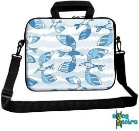 Swagmantra 14 inch Expandable Laptop Messenger Bag