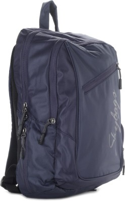 Sk Bags 14 inch Laptop Backpack(Blue)