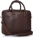 Stamp 15 inch Laptop Messenger Bag (Brow...