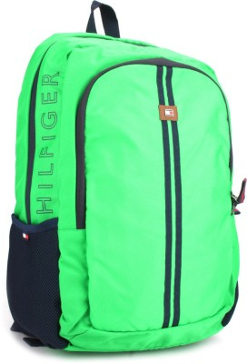 Tommy Hilfiger 17 inch Laptop Backpack(Green)