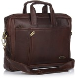 Stamp 10 inch Laptop Messenger Bag (Brow...