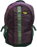 FBI 15 inch Laptop Backpack (Purple)