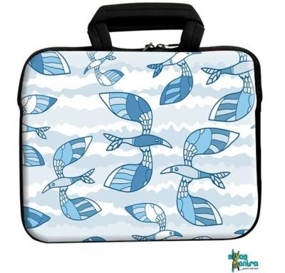 Swagmantra 13 inch Laptop Messenger Bag(Multicolor)