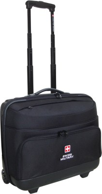 Swiss Military 15 inch Expandable Trolley Laptop Strolley Bag