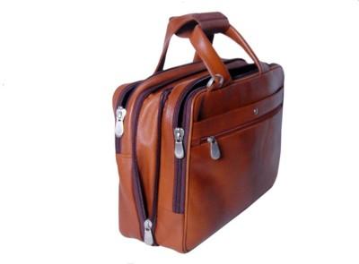 PE 16 inch Expandable Laptop Messenger Bag