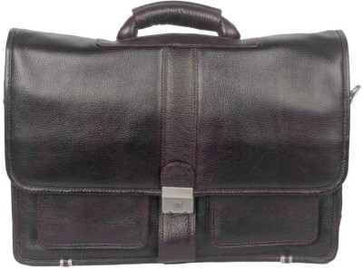 Leather Bags & More... 15 inch Laptop Messenger Bag