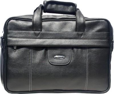 Alkah 15 inch Laptop Messenger Bag(Black)