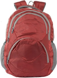 miracle world 15.6 inch Laptop Backpack(Maroon)