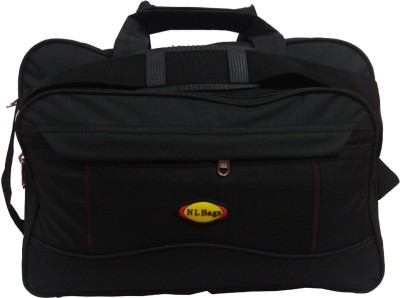 Nl Bags 15 inch Laptop Messenger Bag(Black)