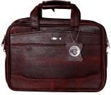 RLE 13 inch Laptop Messenger Bag (Brown)