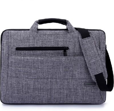 Brinch 15 inch Laptop Messenger Bag(Grey)