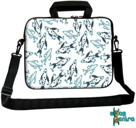 Swagmantra 13 inch Expandable Laptop Messenger Bag