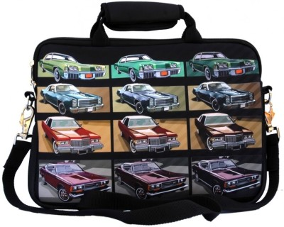 Shor Sharaba 13 inch Expandable Laptop Messenger Bag