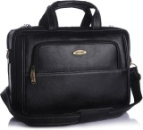 Stamp 15 inch Laptop Messenger Bag (Blac...