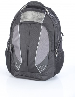 Abacus 17 inch Laptop Backpack(Black)