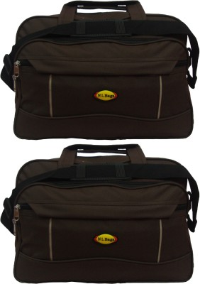 Nl Bags 15 inch Laptop Messenger Bag(Brown)