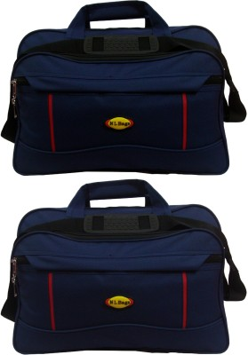 Nl Bags 15 inch Laptop Messenger Bag(Navy Blue)