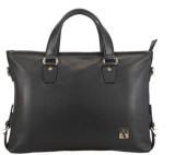 Adamis 15 inch Laptop Messenger Bag (Bla...